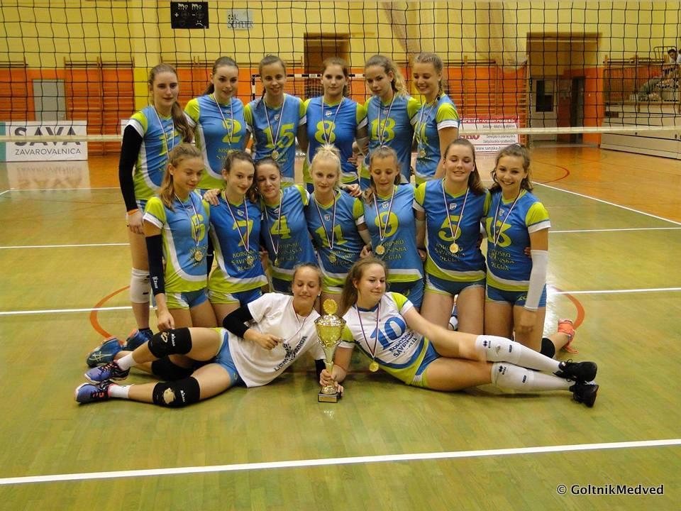 koroško-celjska regijska odbojkarska ekipa 2017